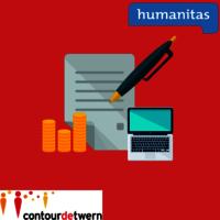 Afbeelding formulier met logo's humanitas en contourdetwern