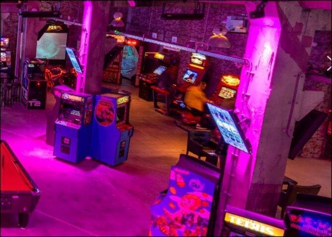 Gamen op de leukste arcade games bij The Gaming Factory