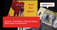 Flyer van Tilburgs Maatje