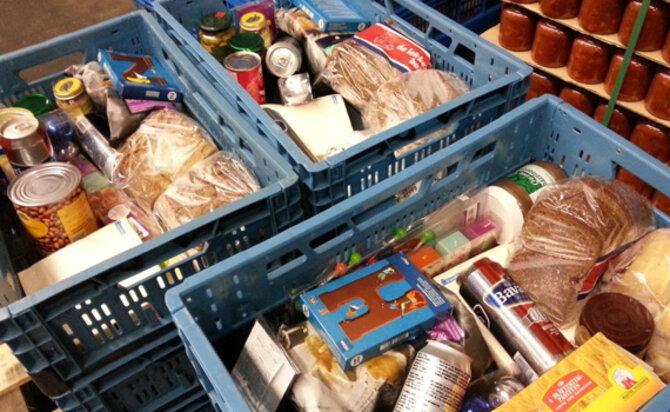 Gratis voedselpakket