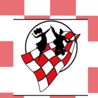 Illustratie van brabantse vlag en logo van brabant maatjes